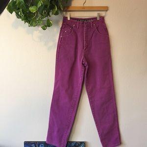 Vintage Purple Wranglers